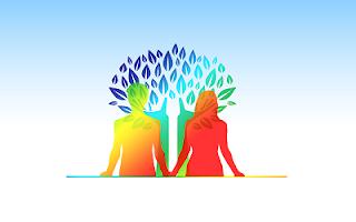 Amici albero disegno