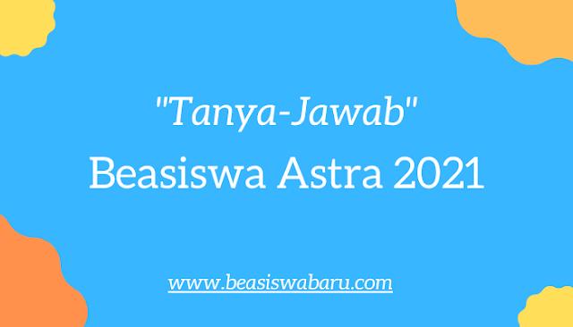 FAQ Beasiswa D3 Astra