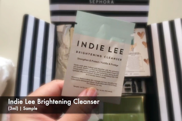 Indie Lee Brightening Cleanser (3ml)