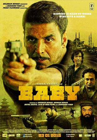 Baby 2015 Full Hindi Movie Download BRRip 720p ESub