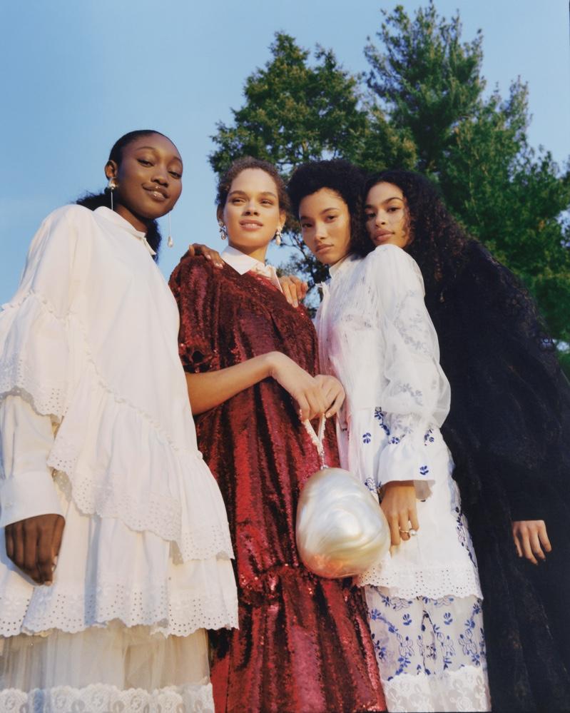 Eniola Abioro, Hiandra Martinez, Lineisy Montero and Zoe Thaets star in Nordstrom spring-summer 2020 campaign