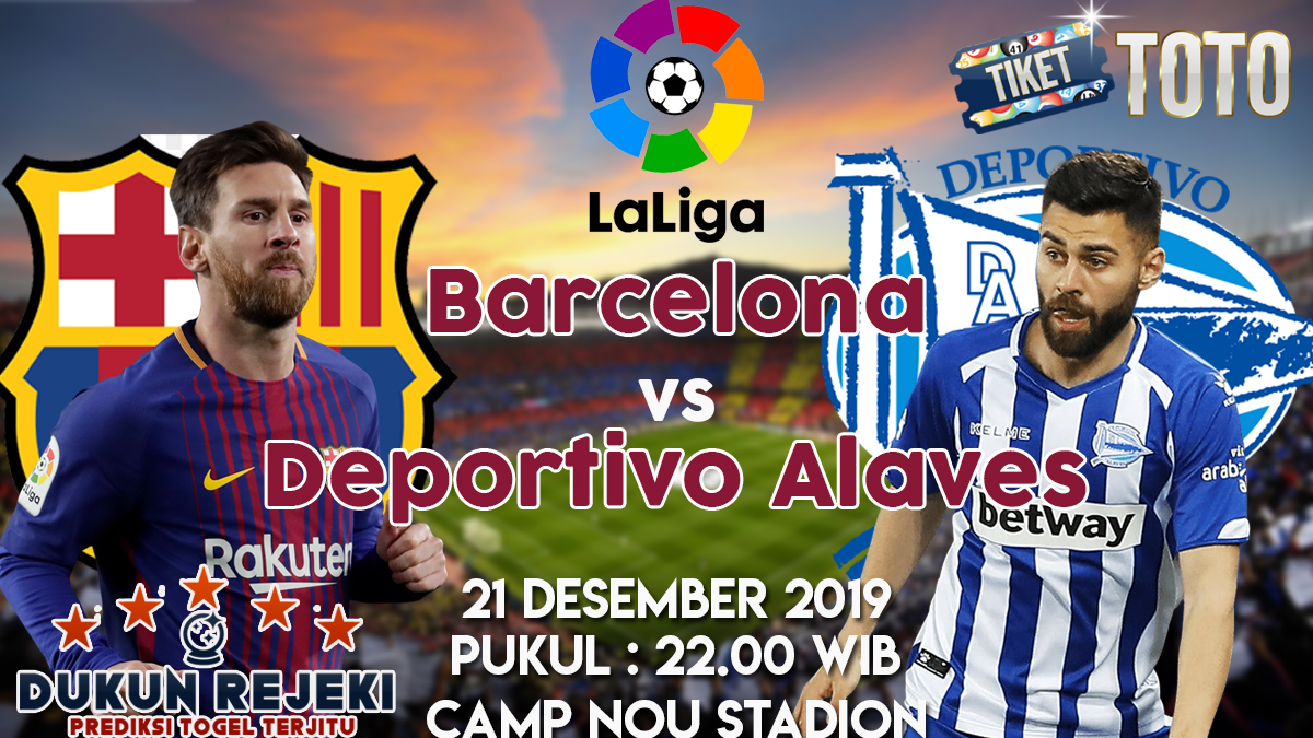Barcelona vs Deportivo Alaves 21 Desember 2019