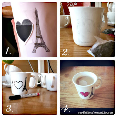 Create Your Own Coffee Mug