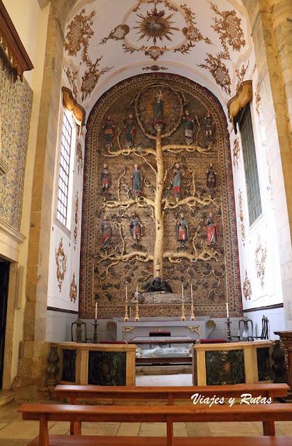 Árbol de Jesé de Iglesia de Santa María del Castillo, Olivenza