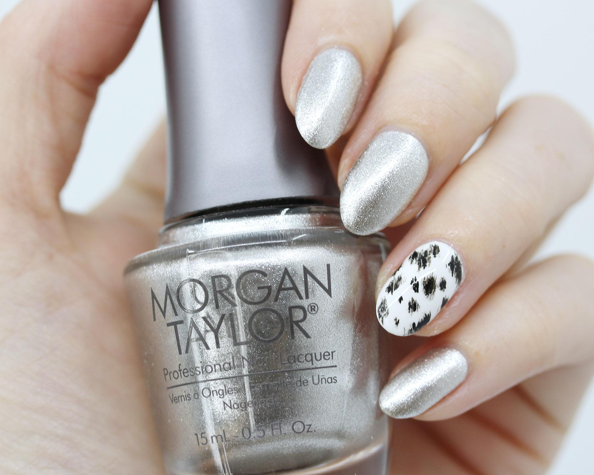 Morgan Taylor Fashion Above All - Disney Cruella de Vil inspired nail polish