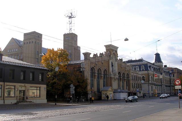 Современный вид здания бывшего завода ВЭФ