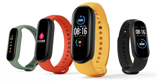 Xiaomi Mi Band 5 Launched With AMOLED Colour Display, 20 Days Battery Life, Heartrate Sensor & More