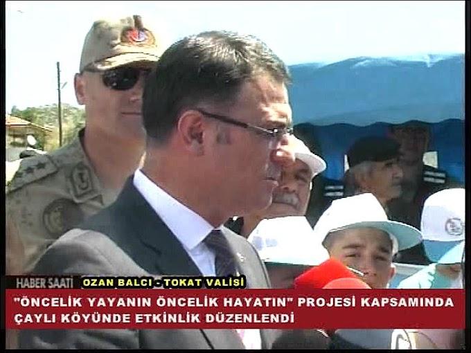 Yaya güvenliğine dikkat çekmek amacıyla Tokat İl Jandarma Komutanlığı tarafından program düzenledi.