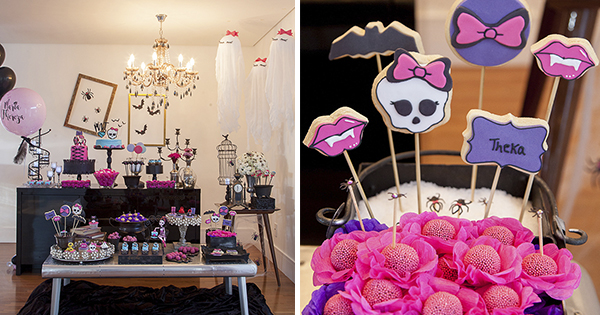 💡 Ideas de Decoración para Cumpleaños Monster High