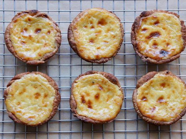 REZEPT: glutenfreie Pasteis de Nata (Puddingtörtchen)