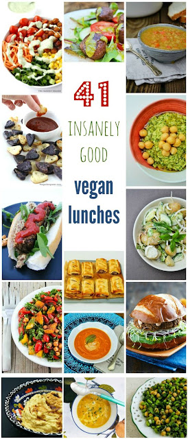 41 Insanely Good Vegan Lunches