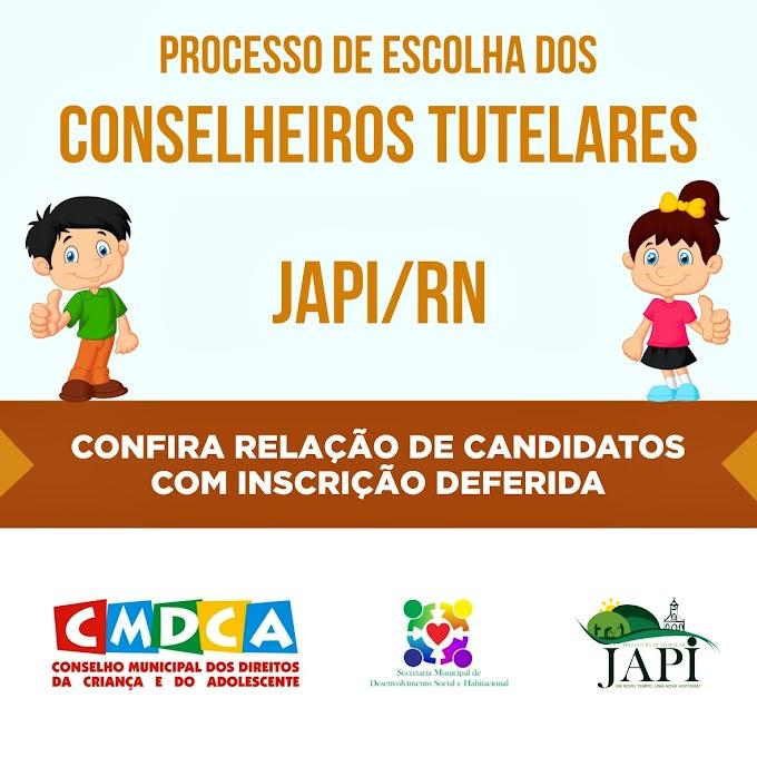 CMDCA divulga lista de candidatos habilitados para eleição do Conselho Tutelar de Japi