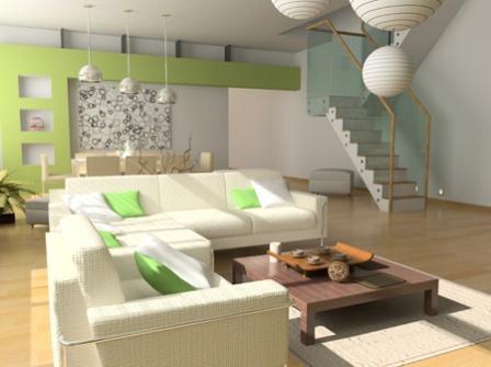 Desain ruang tamu dekat dengan meja makan. 12.47 Referensi Rumah. Referensi Desain Interior Rumah Minimalis & Desain ruang tamu dekat dengan meja makan REFERENSI RUMAH