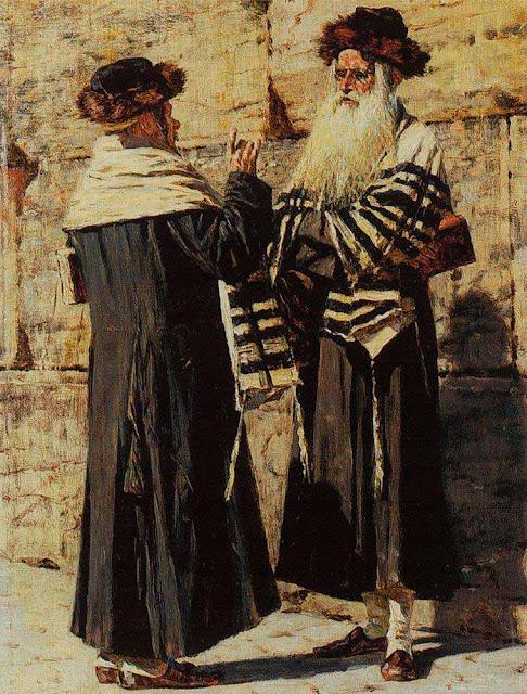 Василий Васильевич Верещагин - Два еврея. 1883-1884