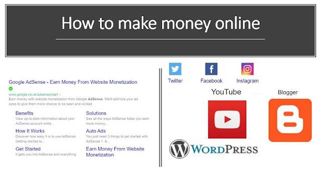 YouTube, Blog, website and Adsense