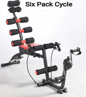 Six Pack Cycle Alat Pengecil Perut Buncit