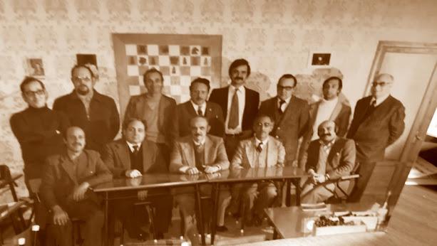 Equipo de ajedrez del Tortosa en 1979