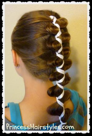 French Dutch Loony Ribbon Braid Cute Hairstyles