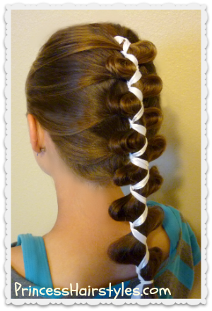 Awesome French Dutch Loony Ribbon Braid Cute Hairstyles Hairstyles Short Hairstyles For Black Women Fulllsitofus