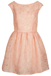 TopShop organza prom dress
