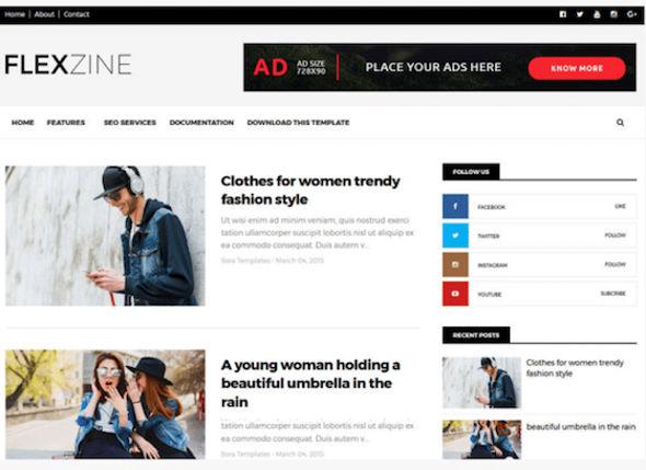 Template Blogger Gratis dan Terbaik Untuk Adsense