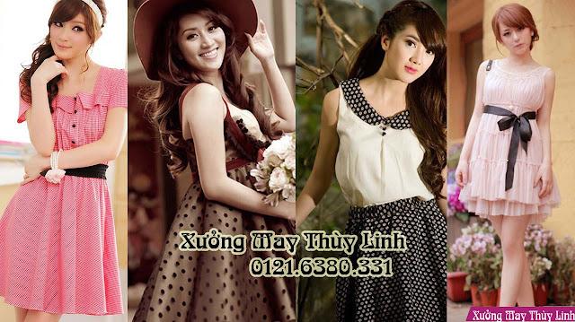 May váy đẹp ở Hà Nội