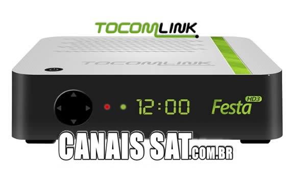 Tocomlink Festa HD 3 Atualização V1.16 - 12/11/2020