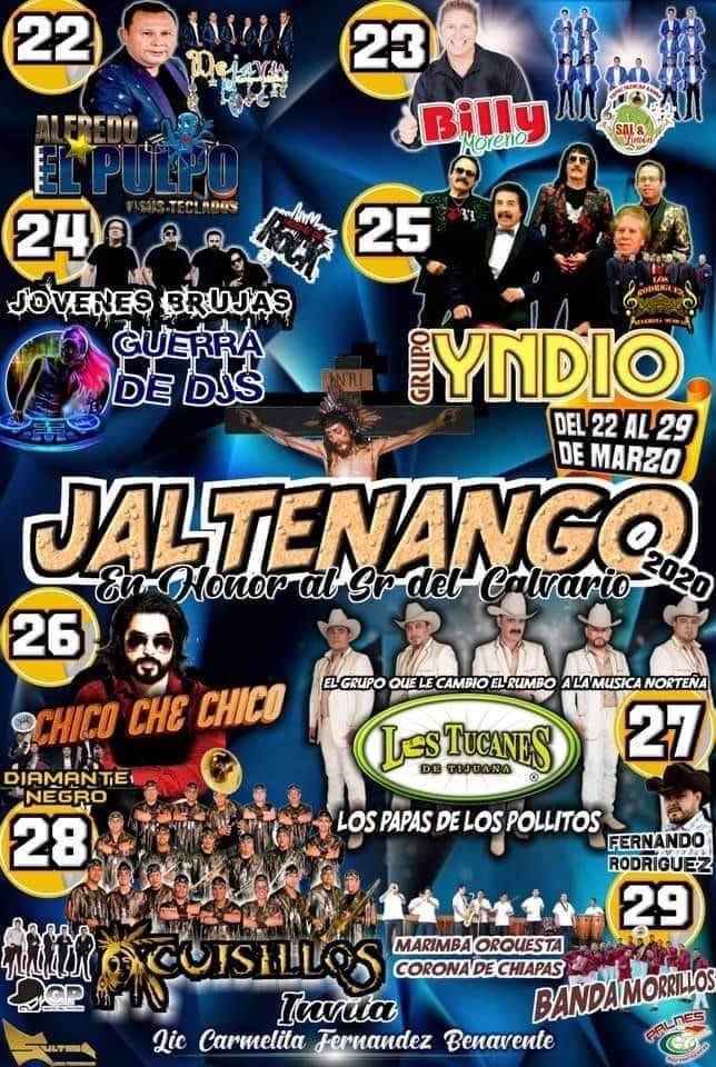Feria Jaltenango 2020 Programa