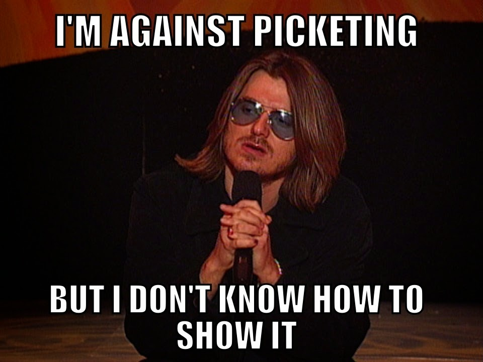 We did a tribute piece to Mitch Hedberg and if you click on Mitch above you can check it out and watch the funny video compilation of Mitch's comedy we found.