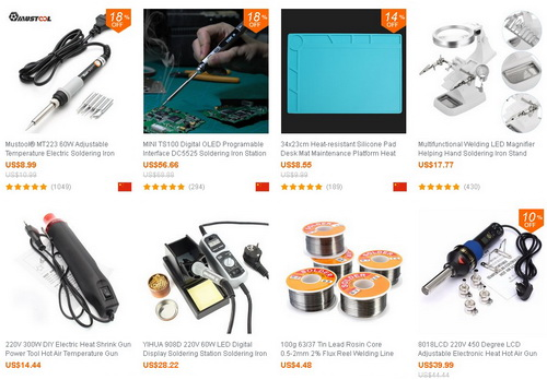 15% off for Soldering Welding Tools @ Banggood ~ China Coupons Codes