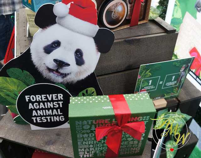 a photo of Going Wild This Christmas with The Body Shop