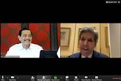 Menko Luhut Bertemu dengan Utusan Khusus Presiden Amerika Serikat untuk Iklim, John Kerry