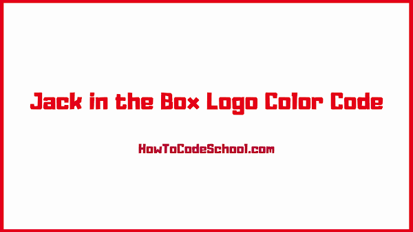 Jack in the Box Logo Color Code