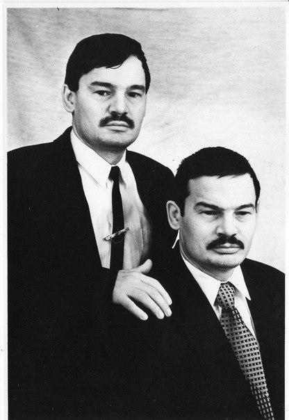 Братья-близнецы Рафис и Нафис Кашаповы