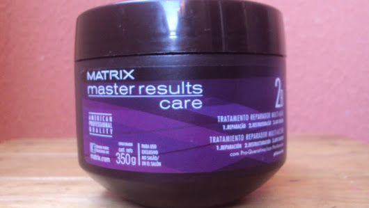 Review: Máscara de Tratamento Matrix Master Results Care!!