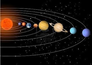 ricerca sull'universo e sul sistema solare per la scuola