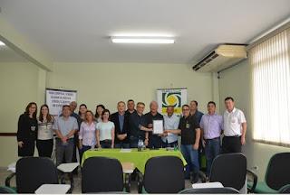 Núcleo Imobiliário da ACIAR faz cerimonia  para receber Moção da Câmara de Registro-SP