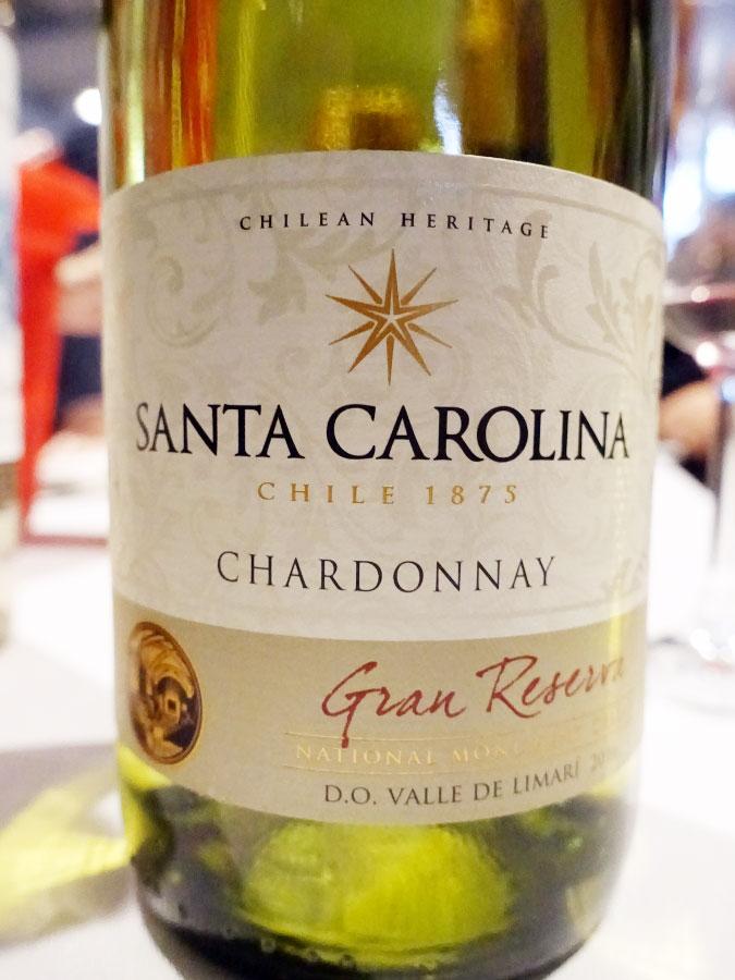 Santa Carolina Gran Reserva Chardonnay 2016 (88 pts)