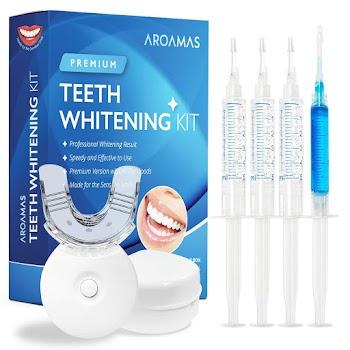 30% OFF Aroamas Teeth Whitening Kit
