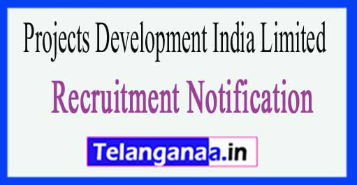 Projects Development India Limited PDIL Recruitment Notification 2017