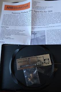 Festiniog Railway disc signal