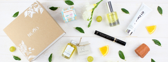 Nuoo beauty box organic