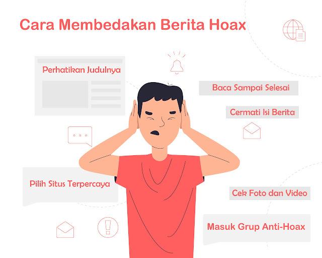 Cara Membedakan Berita Hoax