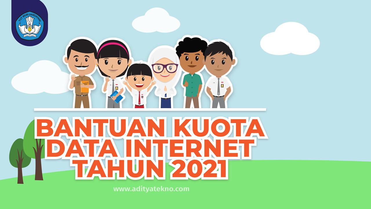 Bantuan Kuota Data Internet Gratis 2021