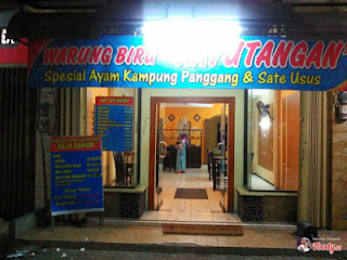 Warung Biru sekarang, Kayutangan, Malang