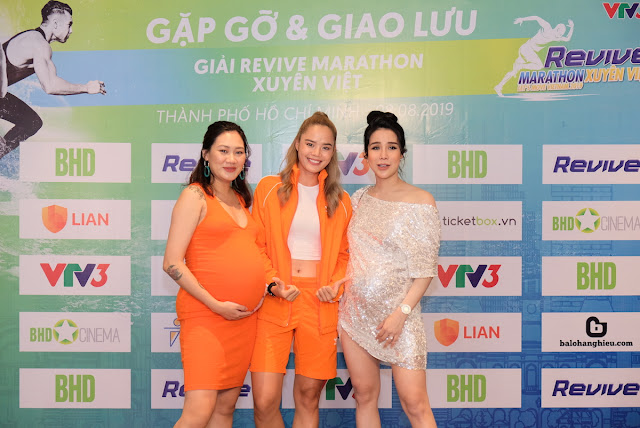 Hàng loạt sao đến tham dự sự kiện Revive Marathon Xuyên Việt