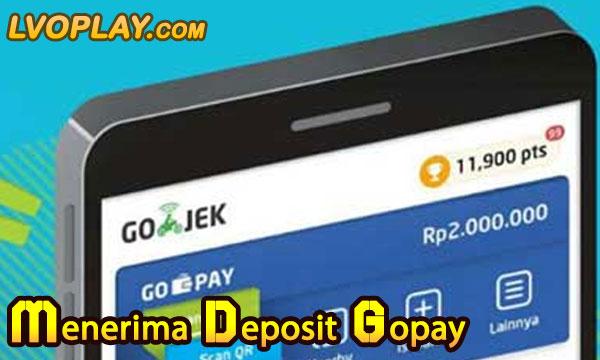 Menerima Deposit Via GoPay dan OVO