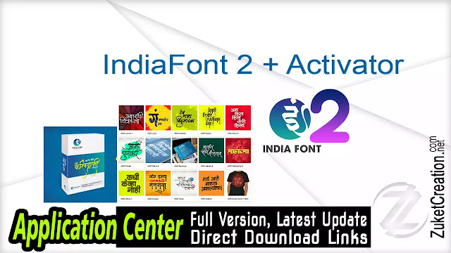 IndiaFont 2 + Activator