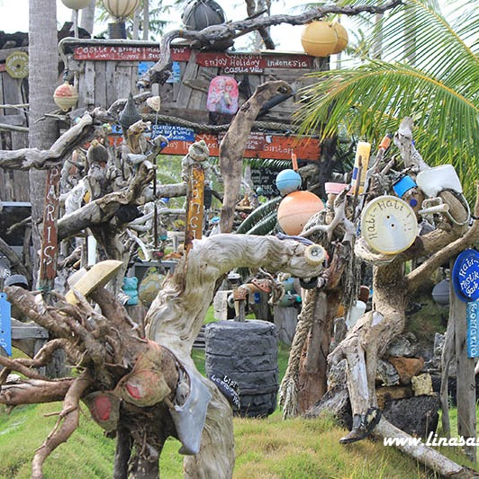 Menelisik Keunikan Istana Jendela Dunia di Pulau Bintan