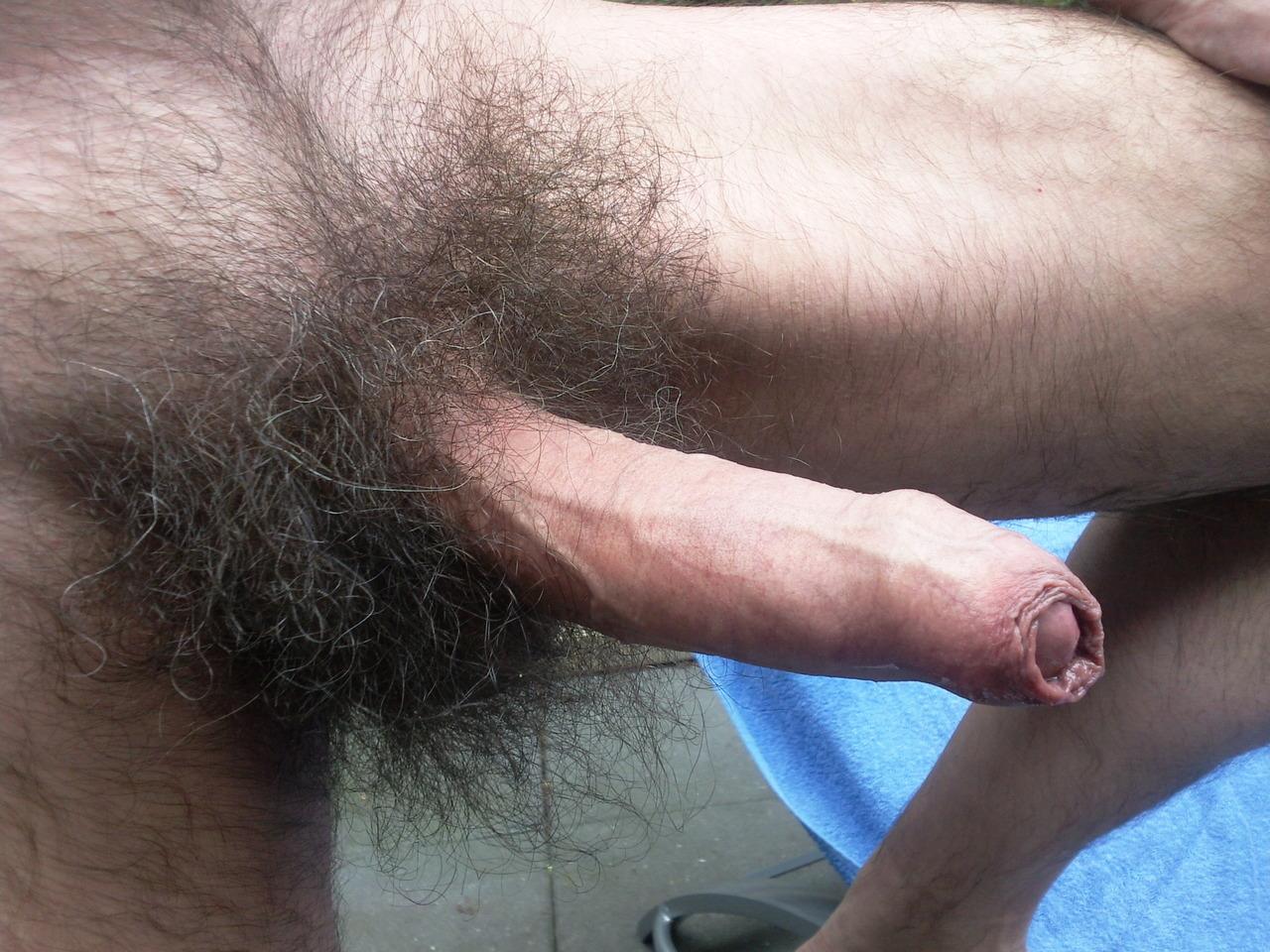 Shaved naked family